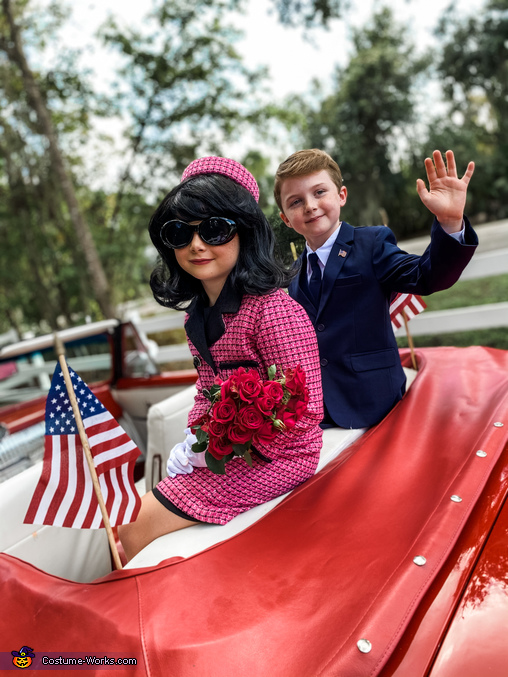 """""""There will never be another Camelot."""", The Kennedys in Camelot Costume"""
