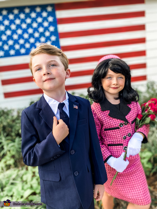 """""""Proud to be an American"""", The Kennedys in Camelot Costume"""
