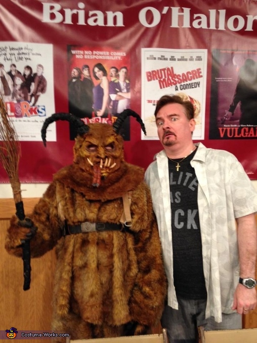 The keystone krampus at sci fi con, The Keystone Krampus Costume