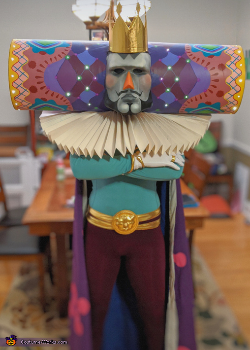 Another finished shot, The King Of All Cosmos Costume