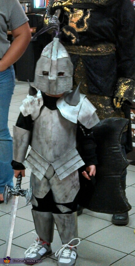 Fox the Knight, my hero!, The Knight Costume