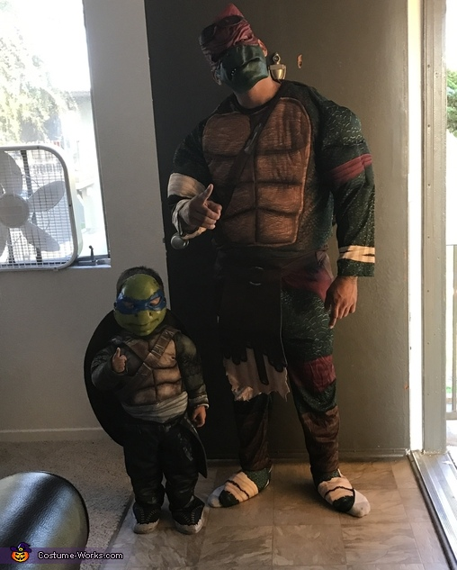 The Knockout Ninja Turtles Costume