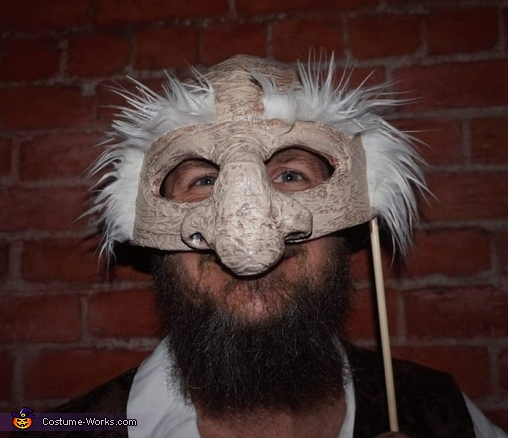 Hoggle mask, The Labyrinth Costume
