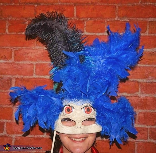 The Worm mask, The Labyrinth Costume
