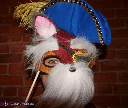 Sir didymus mask, The Labyrinth Costume