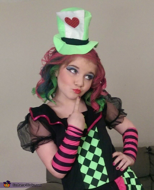 Skyla the Mad Hatter , The Lady Mad Hatter Costume