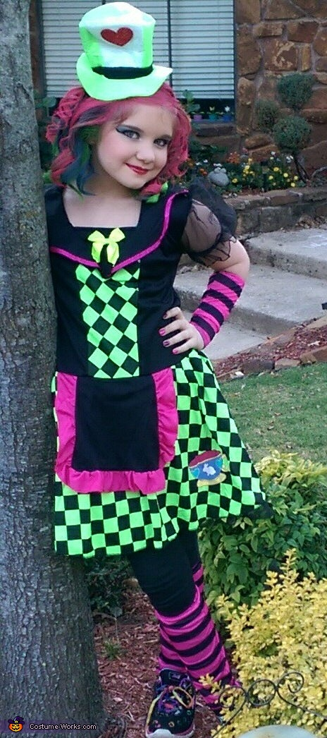 A Lady Mad Hatter , The Lady Mad Hatter Costume