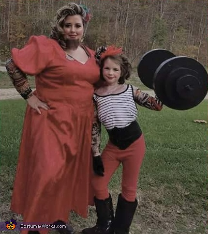 Strong Girl and Bearded Lady, The Last Circus Costume