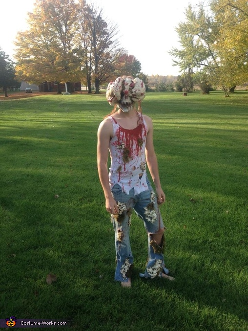 The Last of Us Clicker Homemade Costume