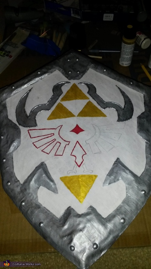 Shield in Progress, The Legend of Zelda Link Costume
