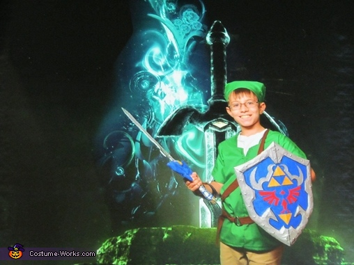 Green Screen Link, The Legend of Zelda Link Costume