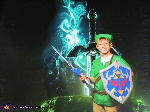 Green Screen Link, The Legend of Zelda Link Costume