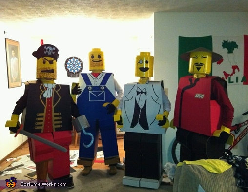 The Lego Men Costume