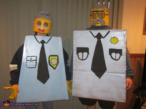 Ma and Pa cop, The Lego Movie Family Costume