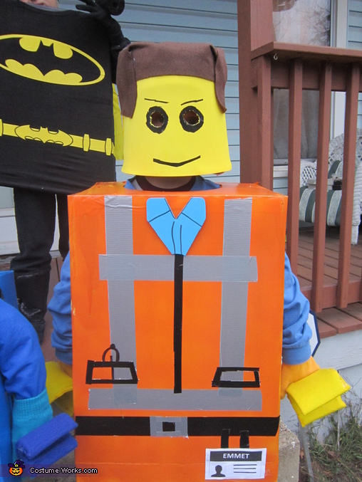 Emmet, The Lego Movie Family Costume