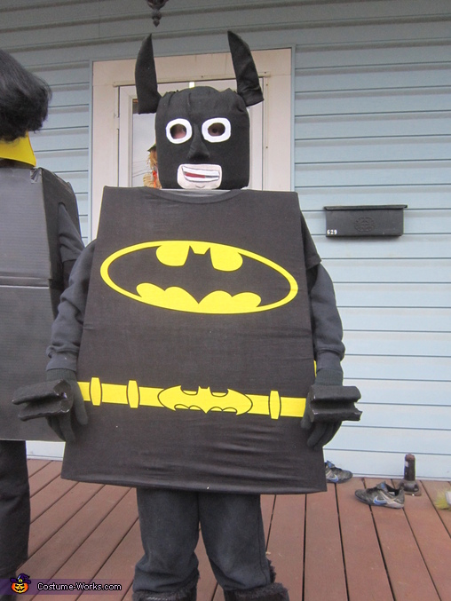 Batman, The Lego Movie Family Costume