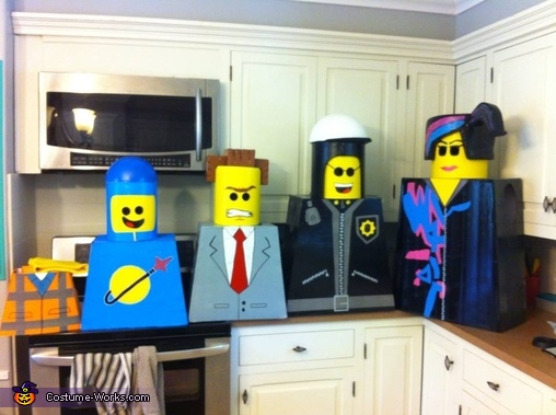good cop, The Lego Movie Family Costumes