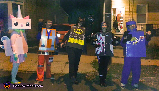The Lego Movie Group Costume