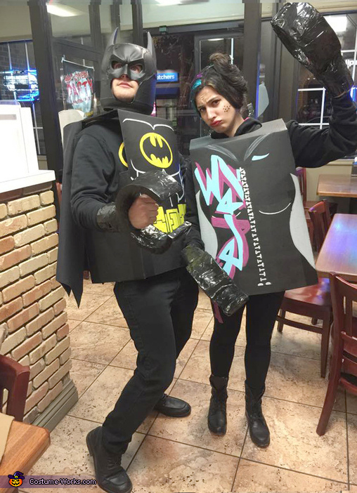 After 8 years we finally get a couples costume!, The Lego Movie Group Costume