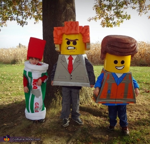 The Lego Movie Stars Group Costume