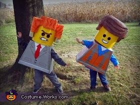 'Everything is awesome!'..., The Lego Movie Stars Group Costume