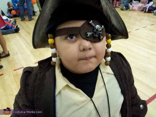 The lil Pirate Costume