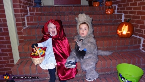 The Little Bad Wolf Costume