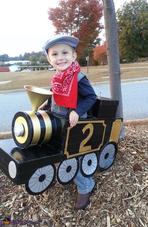 The Little Train Costume