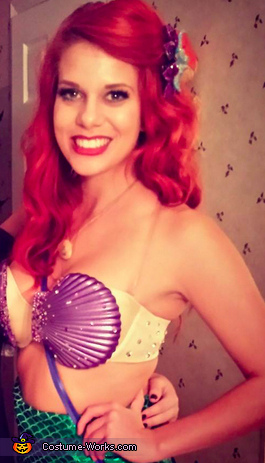 Close-up of Top, The Little Mermaid Costume