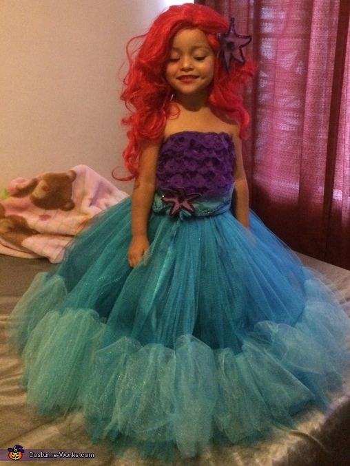 The Little Mermaid Costume  sc 1 st  Costume Works & The Little Mermaid - Creative DIY Costume for Girls