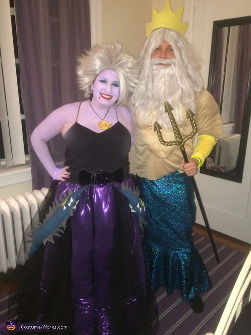 Ursula and King Triton, The Little Mermaid Costume