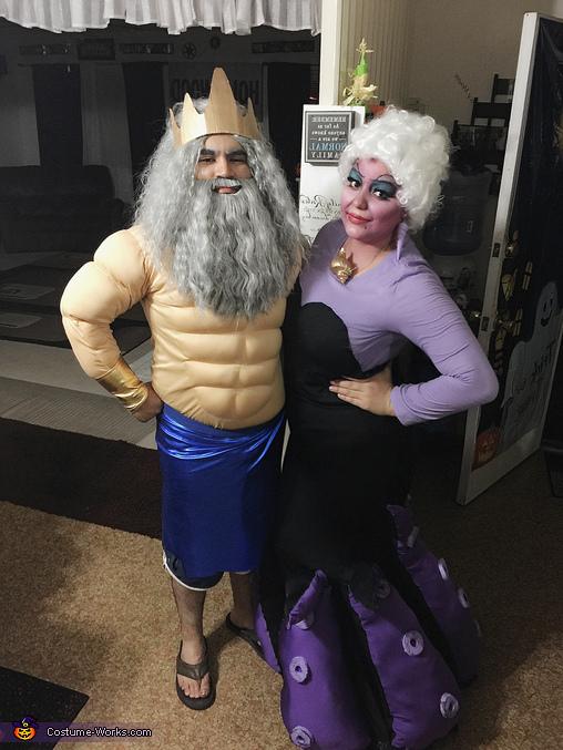 The Little Mermaid Homemade Costume