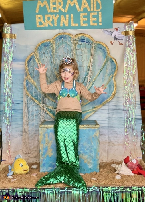 The Little Mermaid Brynlee Costume