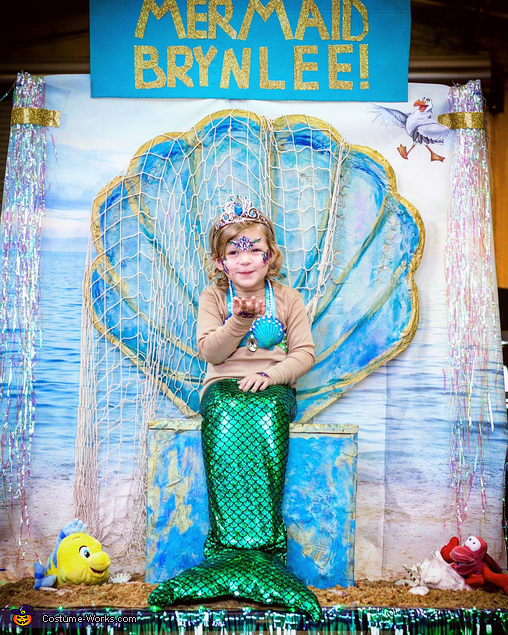 Mermaid Kisses, The Little Mermaid Brynlee Costume