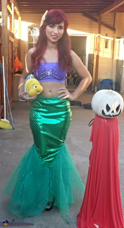 Little Mermaid - Homemade costumes for girls