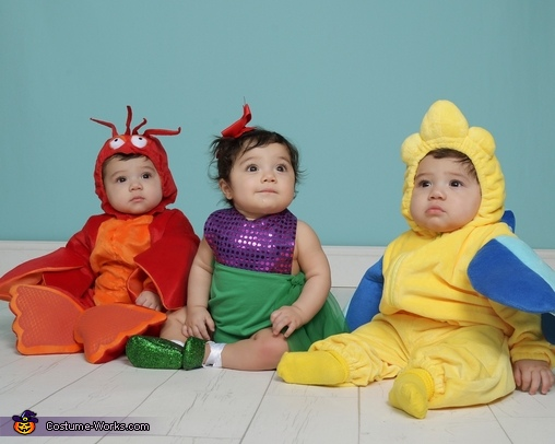 The Little Mermaid and Crew Costume