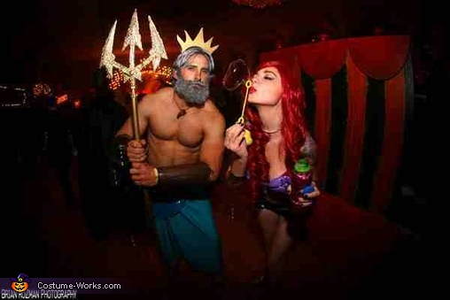 Ariel and King Triton, The Little Mermaid Ariel and King Triton Costume