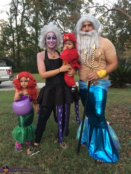 The Little Mermaid Crew Costume
