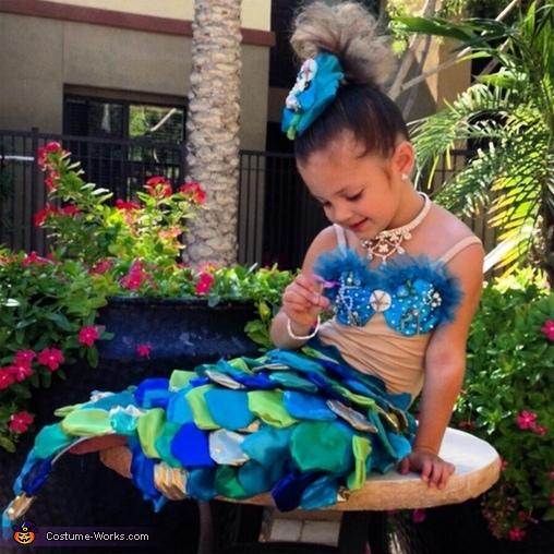 The Little Mermaid Costume for Girls