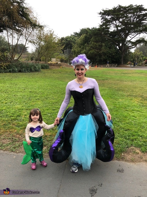 Ariel and Ursula, The Little Mermaid - Eric, Ursula, Ariel, and Flounder Costume