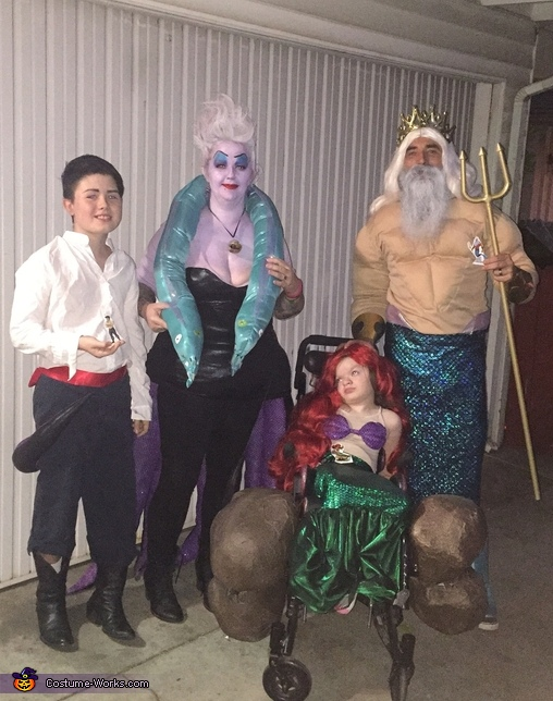 The Little Mermaid Family Costume