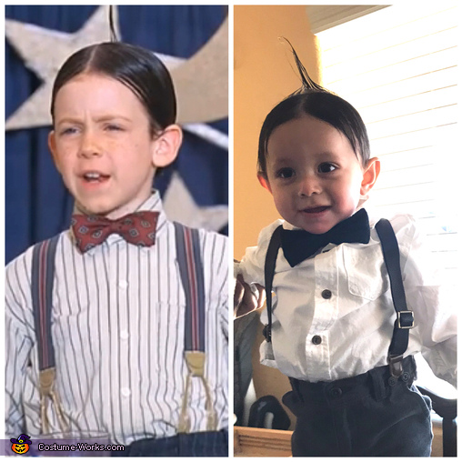 The Little Rascals Alfalfa Homemade Costume