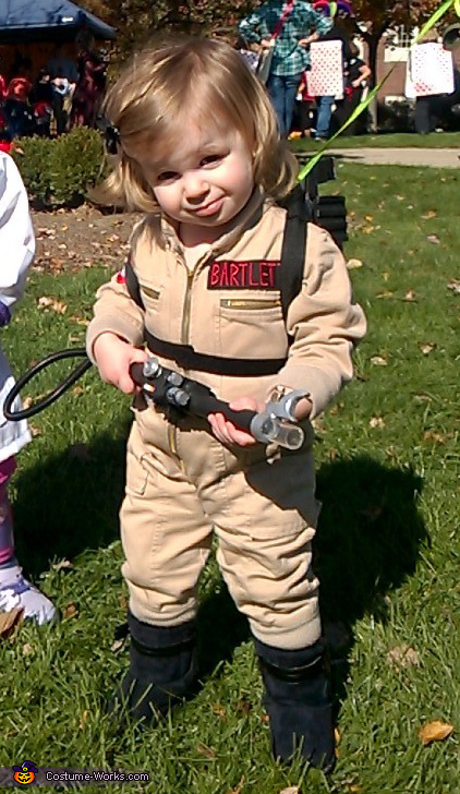 Ghostbuster Baby Costume