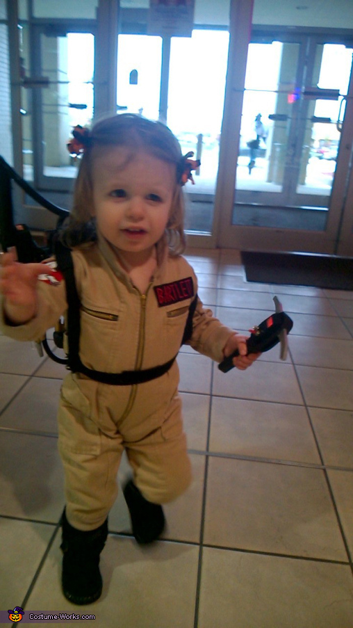 I'm fuzzy on the whole good/bad thing. What do you mean, bad?, Ghostbuster Baby Costume