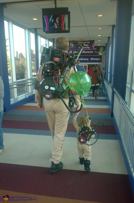 Is it take your daughter to work day?, Ghostbuster Baby Costume