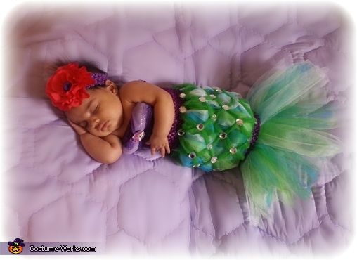The Littlest Mermaid Baby Costume