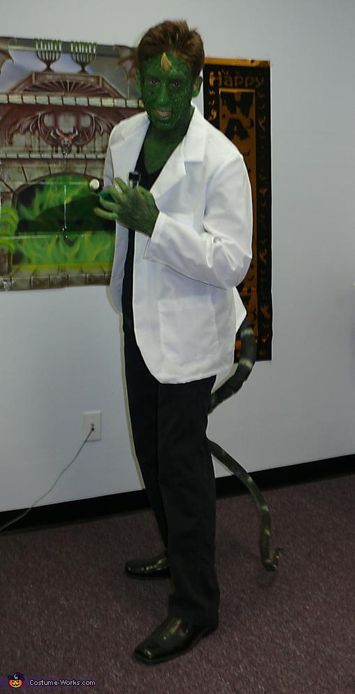Homemade Lizard Costume