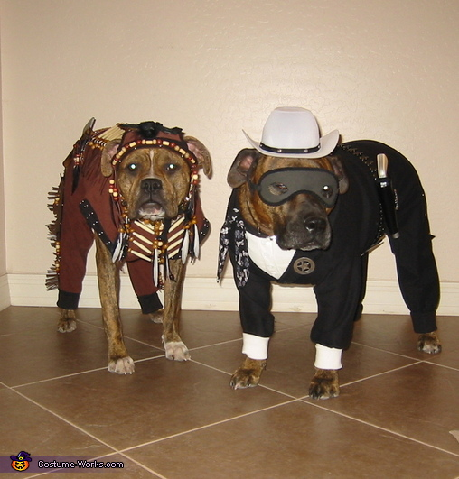 The Lone Hound and Tonta Costume