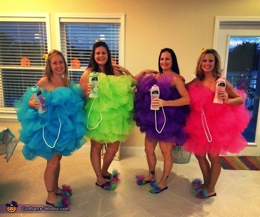 The Loofahs Group Costume