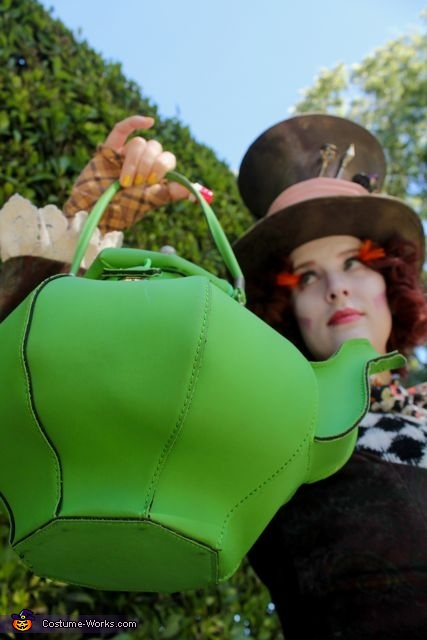 awesome teapot purse, The Mad Hatter Costume